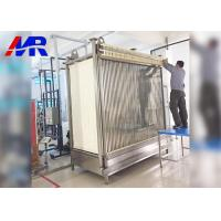 Buy cheap PVDF Membrane Bioreactor Mbr Wastewater Treatment 1500mm Height 3mm Thickness from wholesalers