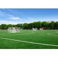 Buy cheap High Performance Rugby Artificial Turf Non - Infill Artificial Cricket Pitch No Pollution from wholesalers