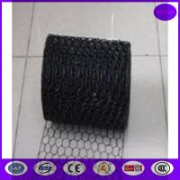Buy cheap Black Vinyl Chicken Wire Mesh Panels for Cages ,decoration and construction from wholesalers