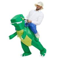 Buy cheap Dinosaur Rider inflatable raptor costume , jurassic world inflatable costume from wholesalers