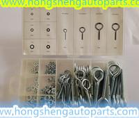 Buy cheap (HS8089)210 METAL THREAD EYE BOLT KITS FOR AUTO HARDWARE KITS from wholesalers