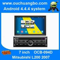 Buy cheap Ouchuangbo audio dvd navi Mitsubishi L200 2007 android 4.4 OS 3G wifi 1080P 4 core canbus from wholesalers