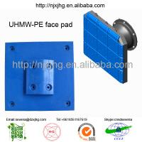 Buy cheap customized black/yellow anti-friction UHMW-PE resin pads supplier from wholesalers