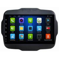 Buy cheap Ouchuangbo car stereo gps navi android 8.1 system for Jeep Renegade 2016 with Bluetooth WIFI USB steering wheel control from wholesalers