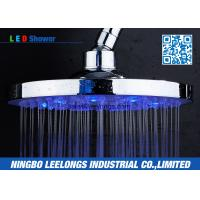 Buy cheap Hotel SPA Ceiling Mounted Rain Shower Heads Overhead , Blue Led Shower Head from wholesalers