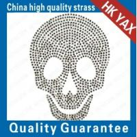 Buy cheap china skull-6 iron on patterns-skull motifs;china hot sale hotfix motifs;good quality motif hotfix from wholesalers