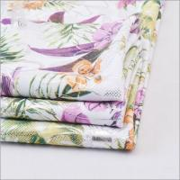 Buy cheap Textile Knit Digital Flower Pattern Dty Jersey Silver Foil Fabric Print from wholesalers