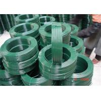 Professional Colorful PVC Coated Wire Rope 0.8-6.0mm Outside Wire , SGS