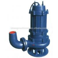 Buy cheap WQ water pump for dirty water,non-clog submersible water pump from wholesalers