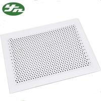 Buy cheap Powder Coating Supply Air Filter Grille , Aluminum Hvac Grilles Compact Structure from wholesalers