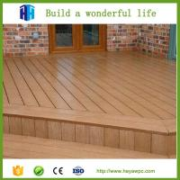 Buy cheap High quality eco waterproof wpc crack-resistant decking price list from wholesalers