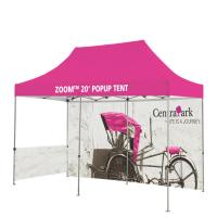 Buy cheap Washable Outdoor Craft Show Tents Full Color Heat Transfer Printed Full Wall from wholesalers