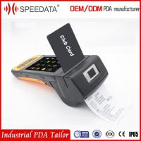 Buy cheap Gps Android Mobile Pos Terminal With Portable Handheld Barcode Printer from wholesalers