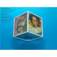 Buy cheap Rotating Magic Photo Cube -Turning Photo frame-Revolving photo cube from wholesalers