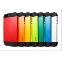Buy cheap Cover Shock Dirt Proof SGP colorful Hybrid Slim Armor Spigen Hard Case Cover for iphone 5S from wholesalers