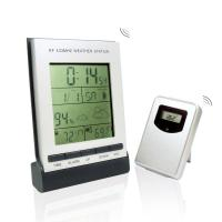 Quality Indoor & Outdoor Digital Thermometers HD-5304B with Weather Station and LCD Clock for sale