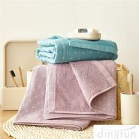 Buy cheap Japan cotton Jacquard Hand Towel Face Towel Breathable Skin Gauze Bath Towel from wholesalers