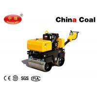 Buy cheap Road Construction Vehicles Walk Behind Road Roller Double Wheel Hand Road Rollers from wholesalers