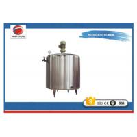 Buy cheap Aseptic Electric Heating Mixing Tank , Juice Processing Stainless Steel Tanks from wholesalers