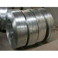 Buy cheap Regular Spangle Hot Dipped Galvanized Steel Strip , Galvanized Metal Strips For Profiles from wholesalers