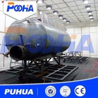 Buy cheap Floor Type Sand Blasting Room Trolley System For Cleaning Big Steel Structural Parts from wholesalers