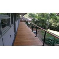 Buy cheap Building stainless steel balcony wire / cable railing for staircase design product