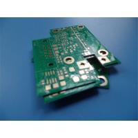Buy cheap 4 Layer PCB on RO4003C and FR-4 Green Solder Mask Immersion Gold from wholesalers