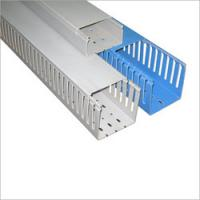 Buy cheap Installation Square PVC cable trunking / duct with  high impact resistance for outdoor from wholesalers