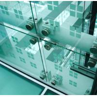 Buy cheap Low Iron Custom Tempered Glass Panels , Laminated Glass Film Safety from wholesalers