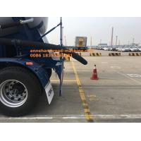 Buy cheap CIMC 3 Axles 60M3 2 Apartment Carbon Steel Semi Trailer Powder Material Tank Truck Trailer With Weichai Engine from wholesalers