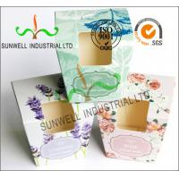 Buy cheap OEM / ODM Custom Made Corrugated Cardboard Boxes CMYK Offset Printing product