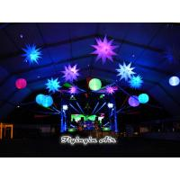 Buy cheap Hot Hang Up The Inflatable Polygonal Star with Led Light for Giant Event from wholesalers
