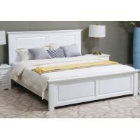 Buy cheap Handmade Classic Style Solid Wood Bed Frame Full Size Strong Structure High Grade from wholesalers