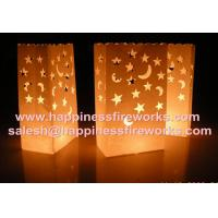 Buy cheap celebration decorative paper candle bags from wholesalers