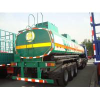 Buy cheap 2018 new truck trailers heavy duty tri axle fuel oil tanks for sale from wholesalers