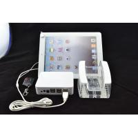 Buy cheap COMER Tablet acrylic clean Stand Devices with security alarm display system from wholesalers