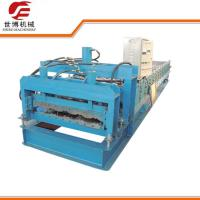 Buy cheap Glazed Roofing Tile Cold Roll Forming Machine For Building Roof from wholesalers