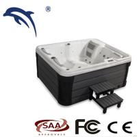 Buy cheap Ponfit Spa Tubs Type Hot Tub 3  Person Massage Spa Freestanding Pool Acrylic Material from wholesalers