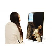 Buy cheap 115W Interactive Mirror LCD Display Wall Mount 550 Nits Brightness from wholesalers