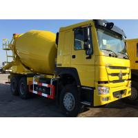 3 Axles Concrete Mixer Truck  For Construction Ten Wheels LHD Steering