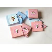Buy cheap Portable Cardboard Chocolate Packing Boxes , Blue Candy / Cake Boxes from Wholesalers