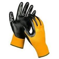 Buy cheap Comfortable Nitrile Coated Hand Gloves Prevent Dirt And Debris From Entering from wholesalers