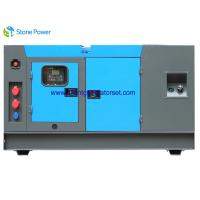 Buy cheap 77kw/96kva LOVOL Diesel Generator Set Super Silent Type Stamford Alternator from wholesalers