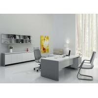 Buy cheap Wall Mounted Display Shelves , Contemporary Executive Desk High Gloss Painting from wholesalers
