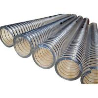 Buy cheap HAVC Air conditioner duct 4 inch PVC Steel Wire Flexible duct hose from wholesalers