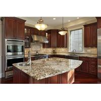 Buy cheap wholesale white solid wood modular kitchen cabinet from wholesalers