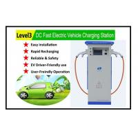 Buy cheap level 3 EVSE quick DC EV charger for all electric vehicle super fast EV charging station with CE certification from wholesalers