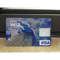 Buy cheap Wiz visa smart classic Card off set printing magnetic stripe visa signature panel from wholesalers