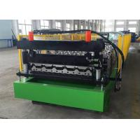 Buy cheap Metal Roofing Sheet Roll Forming Machine PLC Controlled R101 Profiles Use from wholesalers