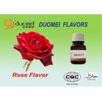 Fresh Rose Petal Soft Drink Flavours , Beverage PQ Based Flavoring